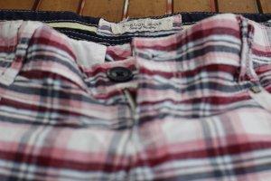 CORDON Shorts - W28 - süße, karierte Shorts mit Kellerfalten und Schleifen