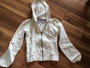 Cordon Sweat-Jacke Damen creme, Größe 36 S, fällt kleiner aus