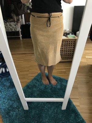 Xanaka Jupe mi-longue brun sable