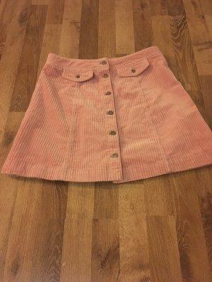 H&M Divided Mini-jupe vieux rose-argenté