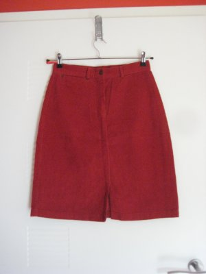 Aygill's Skirt red cotton