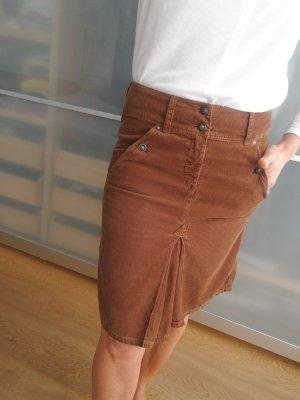 Marc O'Polo Jupe taille haute brun