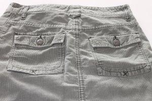 Cordrock mit Taschen in khaki