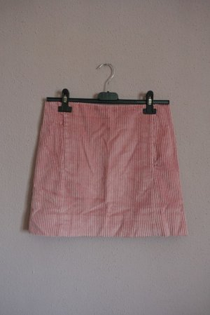 cordrock rosa, cos, XS, neu, rock, cord, minirock mit taschen