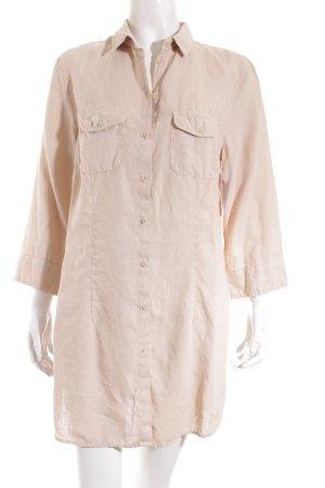 Corina Knoll Hemd-Bluse beige Casual-Look