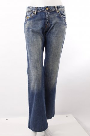 Corleone Bootcut Jeans blau