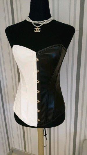 Corsage black-white