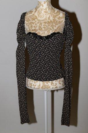Corsage von Dolce & Gabbana aus Seide mit langen Ärmeln
