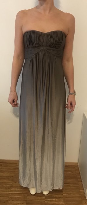 BCBG Maxazria Ball Dress grey lilac