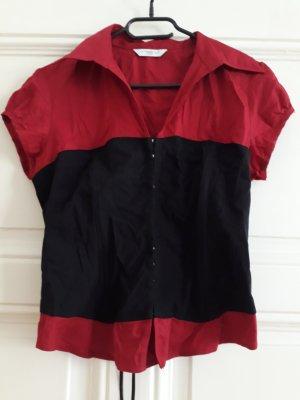 New Look Corsage topje zwart-rood