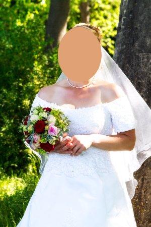 Vestido corsage blanco Viscosa