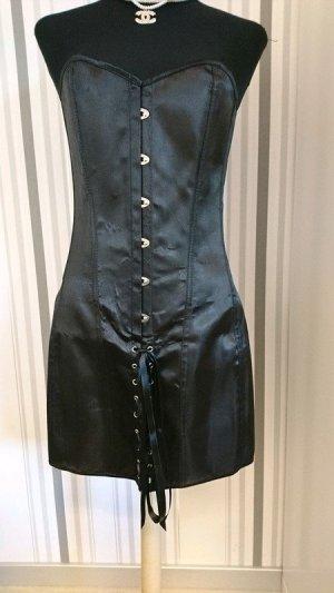 Corsagen-Kleid  schwarz  Größe 34/36