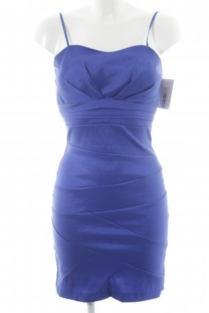 Corsage Dress blue empire style