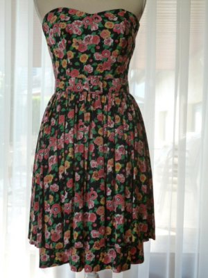 Corsage Dress multicolored cotton