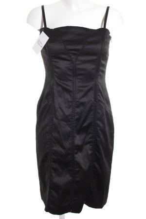 Corsagenkleid schwarz extravaganter Stil