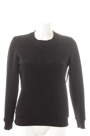 Corso Como Sweat Shirt black street-fashion look