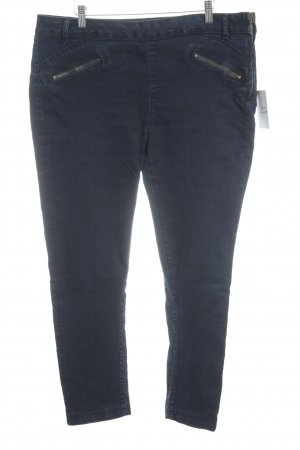 Cortefiel Jeggings dunkelblau Casual-Look