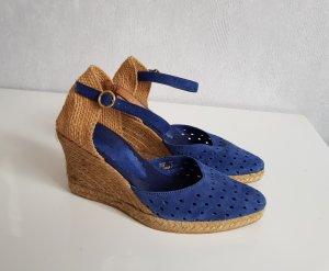 Cortefiel Espadrille Sandals blue