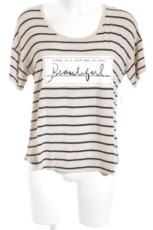 Cortefiel T-Shirt Schriftzug gedruckt Street-Fashion-Look
