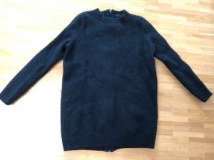 Cos 100% Wolle Long Pullover XS 32 34