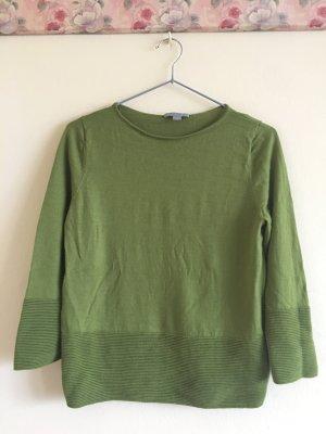 COS Camicia maglia verde Lana