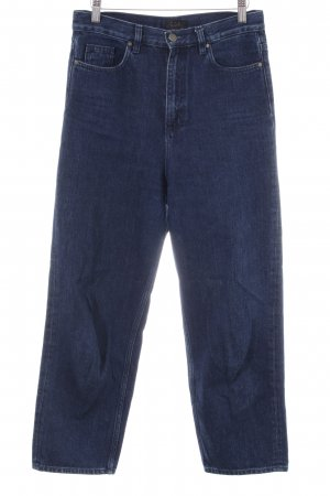 COS 7/8 Jeans neonblau Allover-Druck Casual-Look