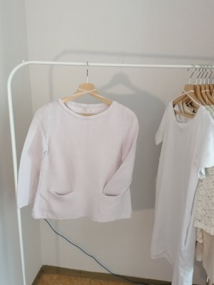 COS Knitted Top white cotton
