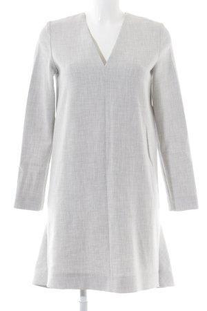 COS A-Linien Kleid hellgrau meliert Business-Look