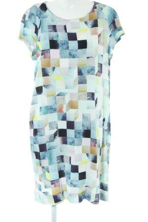 COS A-lijn jurk abstract patroon casual uitstraling