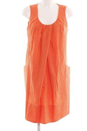 COS Robe trapèze orange clair style décontracté