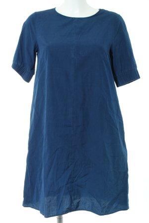 COS A-Linien Kleid blau Casual-Look