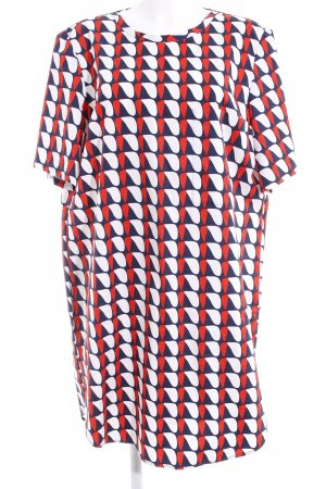COS A Line Dress abstract pattern business style