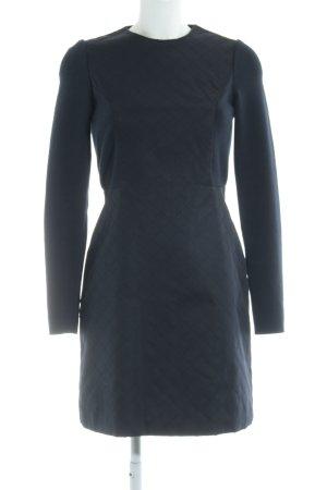 COS A Line Dress dark blue business style