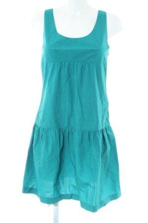 COS A-Linien Kleid petrol-kadettblau Casual-Look