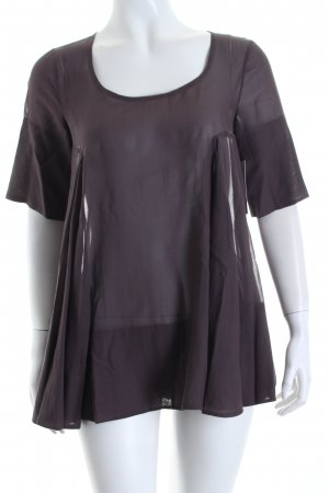 COS A-Linien Top graulila Eleganz-Look