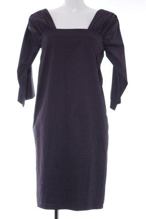 COS Vestido de noche violeta grisáceo elegante