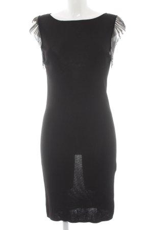 COS Abendkleid schwarz extravaganter Stil