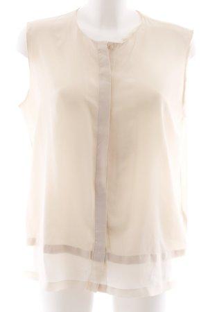 COS ärmellose Bluse nude Casual-Look