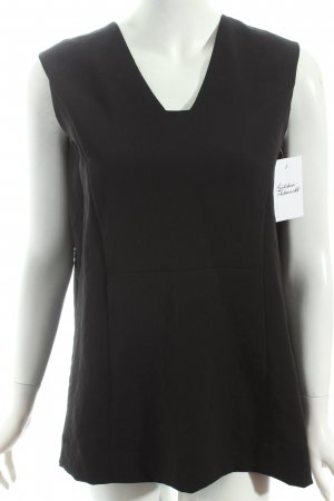 COS ärmellose Bluse schwarz Casual-Look
