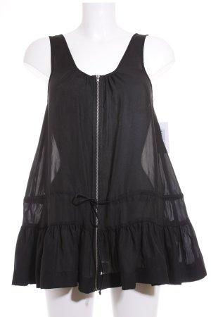 COS Sleeveless Blouse black minimalist style