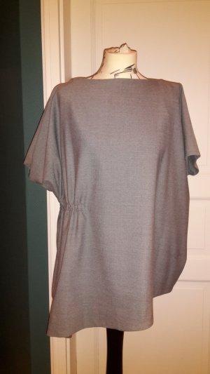 COS Vestido tipo túnica color plata tejido mezclado