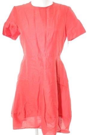 COS vestido de globo rojo claro elegante