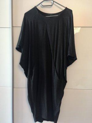 COS Balloon Dress dark grey-anthracite