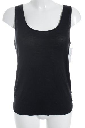 COS Basic topje zwart casual uitstraling