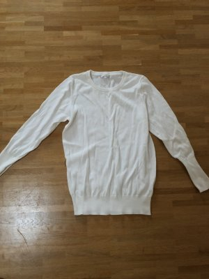 COS Basic Woll Pullover weiß XS 32 34