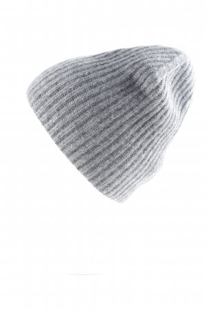 COS Beanie grau Casual-Look