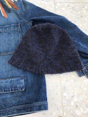 COS Bonnet bleu-noir