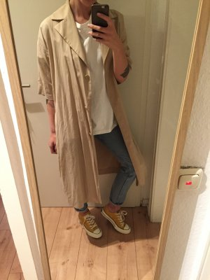 Cos beiger Dünner sommerlicher Mantel Trenchcoat