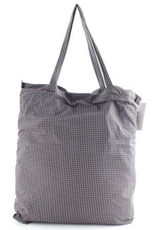 COS Beuteltasche graublau-altrosa abstraktes Muster schlichter Stil