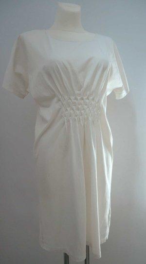 COS: Bezauberndes luftiges Sommerkleid / T-Shirt-Kleid * Raffung * M